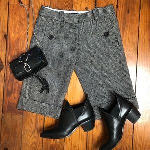 NWT Anthropologie XS 0 herringbone dress shorts